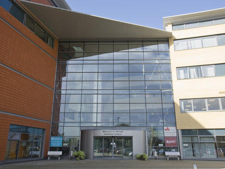 University building with glass windows Programme Co-ordinator