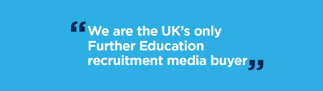 We are specialists in FE recruitment.