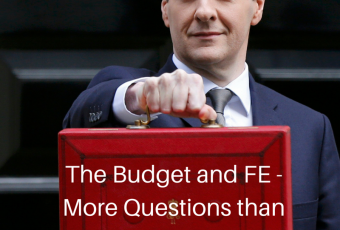 July 8th budget and further education