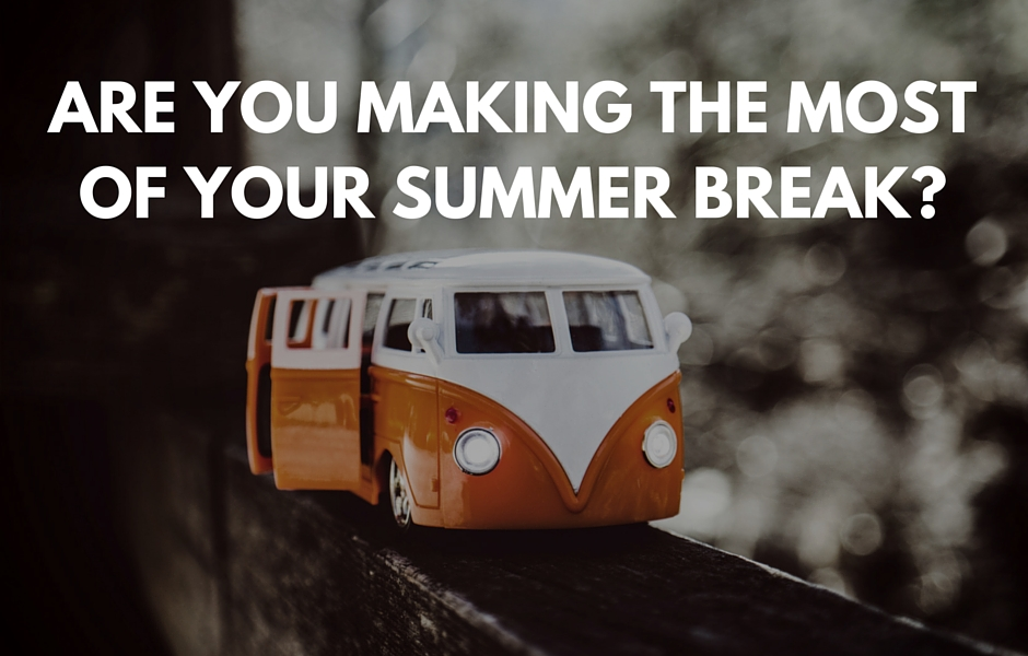 FE professionals - How to make the most of your summer break from FE
