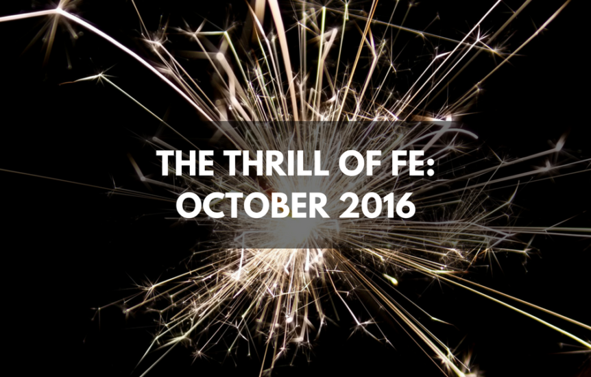 The Thrill of FE October 2016