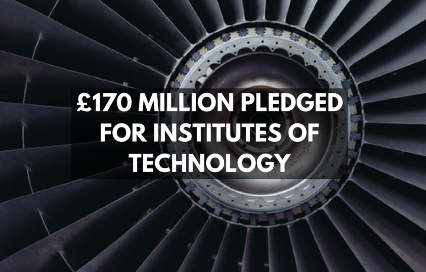 £170 Million Pledged For Institutes Of Technology