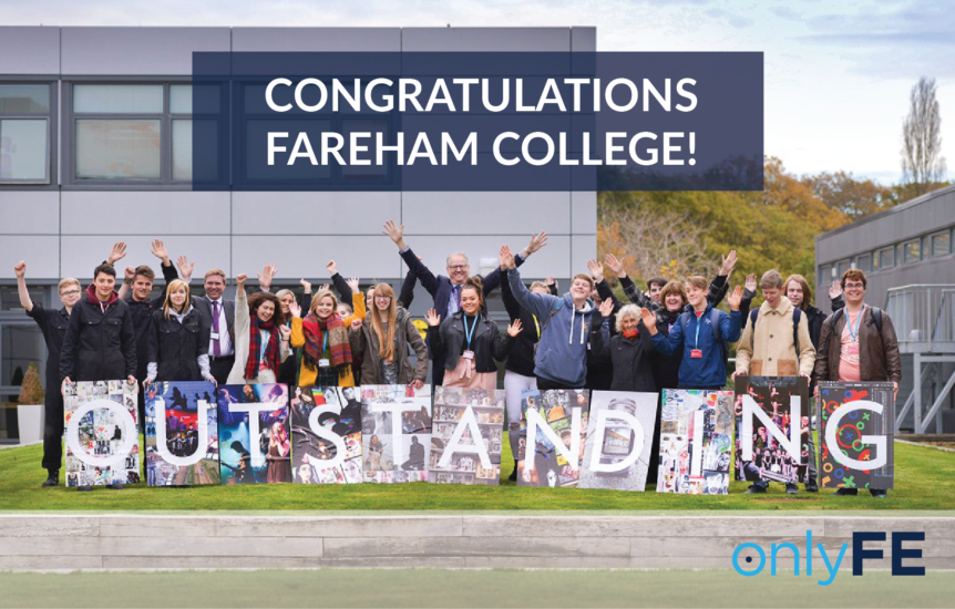 Fareham College Rated Outstanding By Ofsted